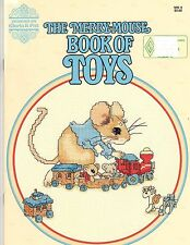 Designs by Gloria & Pat THE MERRY MOUSE BOOK OF TOYS  Counted Cross Stitch