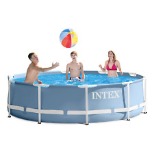 New listing Intex 10Ft X 30In Prism Frame Pool Set with Filter Pump Brand New Fast Shipping