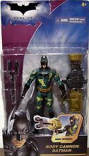 Batman Body Cannon Batman The Dark Knight 2008 Action Figure Mattel NIB