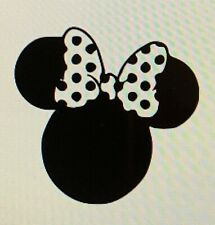 Minnie Mouse with Spotty bow Disney Car decal