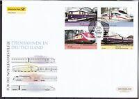 BRD 2006 Deutsche Post FDC MiNr. 2560-2563  Eisenbahnen in Deutschland