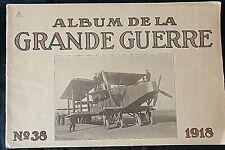 Album imprimé en  photographié en noir et blanc en édition allemand N°38 1918 A5