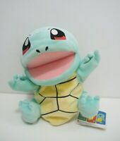 "Squirtle Pokemon Center 2004 Hand Puppet 8"" Toy Japan TAG Doll Plush"