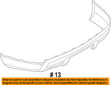 FORD OEM 11-15 Explorer Rear Bumper-Lower Cover BB5Z17F828CA