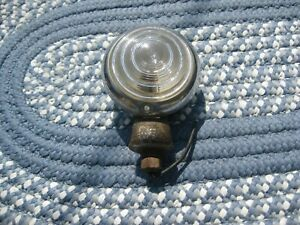 Vintage Original Nash Auto Running Light C.M. Hall Lamp Co. Detroit, Michigan U.