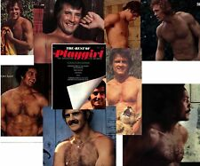 PLAYGIRL'S BEST OF 1 PETER LUPUS POSTER! LYLE WAGGONER MAHARIS JIM BROWN HAIRY H