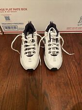 Skechers Men's Energy After Burn Low Top Sneaker White Footwear Apparel Size 8