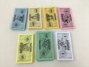Pirates of The Caribbean Monopoly Disney Play Money Replacement Pieces Hasbro