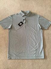 Mens Grey Footjoy Polo Shirt Size Medium