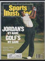 Sports Illustrated, MICHAEL JORDAN On Cover 8/14/1989 GOLF