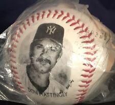 New Vtg Don Mattingly New York Yankees 1996 Burger King Photo Baseball