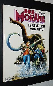 BOB MORANE LE REVEIL DU MAMANTU EO 1986 VERNES CORIA LOMBARD
