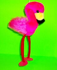 SUPER RARE Vtg 1989 ETONE PINK FLAMINGO Doll Plush Stuffed Animal Toy w Tag LOOK