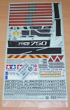 Tamiya 56360 Volvo FH16 Globetrotter 750 6x4 Timber, 9495961/19495961 Decals NIP