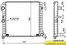 Wasserkühler VOLVO 440 K (445) 1.6