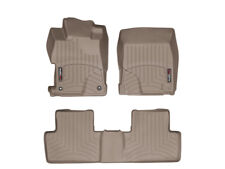 WeatherTech Floor Mat FloorLiner for Honda Civic Sedan - 2012-2013 - Tan