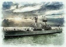 HMS ARIADNE -  LIMITED EDITION ART (25)