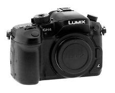 Panasonic Lumix DMC-GH4 Mirrorless Micro 4/3 Digital Camera Body Only 53 CLICKS!