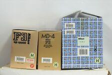 Nikon F3H/MD-4H 35mm Film camera with Cap & Box
