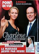POINT DE VUE 2011: CHARLENE DE MONACO-MARIAGE GRACE KELLY et RAINIER_CAMBODGE