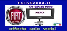 Fiat Grande Punto  Mascherina Autoradio 1 Din Nera + Adattatore Antenna