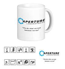 Aperture Laboratories Mug. Portal. Gamer. GlaDos. Videogame. Funny.