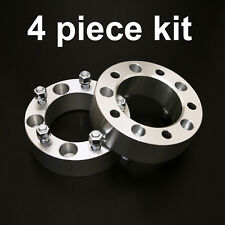 "4pc 2"" Thick - 5x5.5 to 5x5.5 Wheel Spacers - 1/2"" Studs - for Ford Dodge Jeep"
