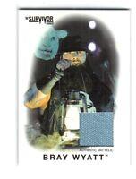 WWE Bray Wyatt 2016 Topps Heritage Survivor Series Mat Relic Card SN 122 of 199