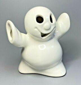 McCoy Ltd Ghost Tea Light Votive Candle Holder Cover Spooky Halloween Decor USA