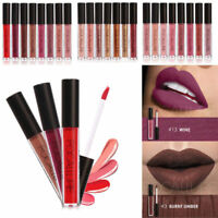 FOCALLURE 25 Colors Long Lasting Waterproof Matte Lipstick Liquid Lip Gloss