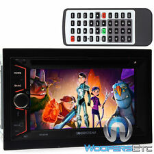 "SOUNDSTREAM VR-624B DOUBLE DIN CAR STEREO 6.2"" TV CD MP3 DVD USB SD BLUETOOTH"