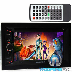 "SOUNDSTREAM VR-624B DOUBLE DIN CAR STEREO 6.2"" TV CD MP3 DVD USB SD BLUETOOTH"