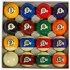 """New listing AAA Grade Billiard Pool Ball Set,2-1/4"""" Art Number With Black Circle Style"""