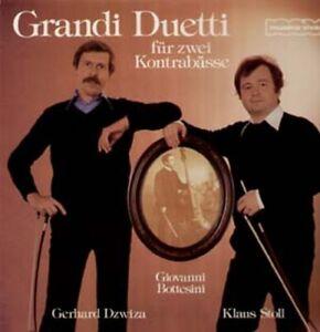 Bottesini - Grandi Duetti for Double Bass, Klaus Stoll, Gerhard Dzwiza - LP