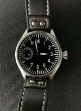 TISELL Flieger Style 44mm Pilot Watch | Hand Wind 6497 Movt. | SAPPHIRE Crystal