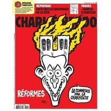 CHARLIE HEBDO N° 1395 de AVRIL  2019 NOTRE DAME DE PARIS MACRON REFORMES