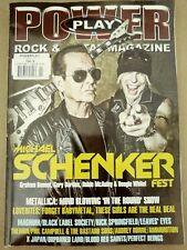 Power Play Rock & Metal Magazine Issue 205 Feb 2018 Michael Schenker Fest M166