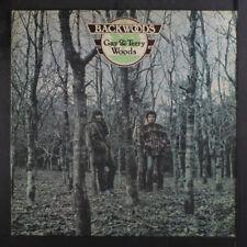 GAY & TERRY WOODS: Backwoods LP (UK, sm toc) rare Rock & Pop