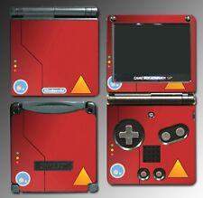 Pokedex Trainer Professor Oak Pikachu Game Decal Skin Cover Nintendo GBA SP