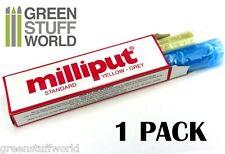 Masilla Milliput Estandar - Yellow Grey - pasta Epoxi para esculpir - modelismo