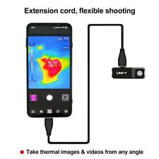 Uti120 Thermal Camera Phone 12090 For Android Detect Water Pipe Floor Heating