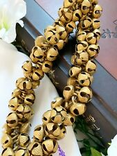 More details for 20 mm brass ghungroo bells charms handmade loose pet collar bells pet accessory