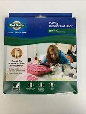 """PetSafe 2-Way Interior Cat Door Up to 15lb 5-3/4""""x 5-3/4"""" Flap Opening (1052)"""