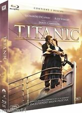 TITANIC EDICION 2 DISCOS BLU RAY PELICULA + BLU EXTRAS NUEVO ( SIN ABRIR ) FOX