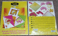 JEJE SANDY ART 3D Creative with Sand 3 Cards + env 3 bags sand Decoupage 1.9102