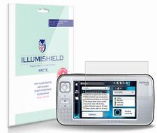 iLLumiShield Matte Screen Protector w Anti-Glare/Print 3x for Nokia N800