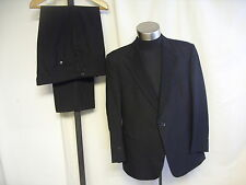 """Mens Dinner Suit Odermark black, chest 46"""" trousers W 40 L 29, to dry clean 7179"""