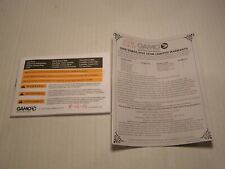 Original Oem Gamo Break / Fixed Barrel Air Gun Rifle Instruction Manual (2016)