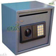 CASSAFORTE digitale con fessura lettera, POST Slot, ad alta sicurezza, Casella postale, contanti, scava-Fessura