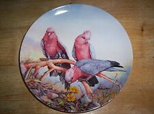 2nd Plate Australian Birds of the Bush Series Feasting Galahs Michael Piper